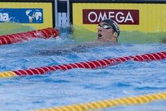 SWM : Championnat d'Aquatics du monde - des hommes de 200m de style libre fina semi Photographie stock libre de droits
