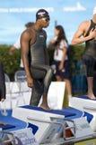 SWM : Championnat d'Aquatics du monde - des hommes de 50m de style libre fina semi Image libre de droits