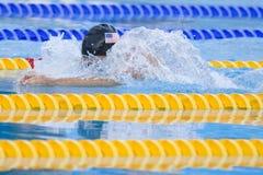 SWM : Championnat d'Aquatics du monde - fina de brasse de 100m des femmes Images stock
