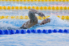 SWM : Championnat d'Aquatics du monde - finale de style libre de 1500m des femmes Images libres de droits