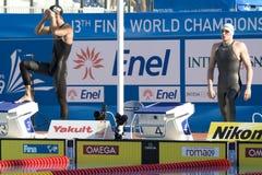 SWM : Championnat d'Aquatics du monde - finale de style libre de 200m des hommes Photographie stock
