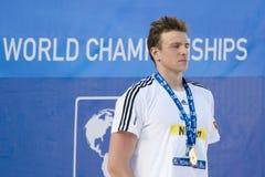 SWM : Championnat d'Aquatics du monde - finale de style libre de 200m des hommes Photos stock