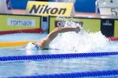 SWM : Championnat d'Aquatics du monde - freestyleSWM de 100m des femmes : Wor Photos libres de droits