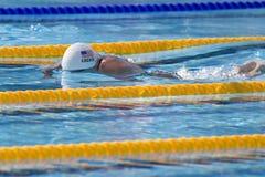 SWM : Championnat d'Aquatics du monde - mélange de la personne des hommes 400 Images libres de droits