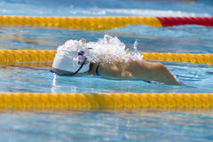 SWM : Championnat d'Aquatics du monde - mélange de personne de 400m des femmes Photo libre de droits