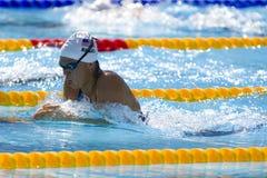 SWM : Championnat d'Aquatics du monde - mélange de personne de 400m des femmes Photo stock