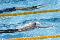 SWM : Championnat d'Aquatics du monde - papillon de 200m des hommes Photo stock