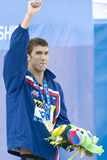 SWM : Championnat d'Aquatics du monde - papillon de 200m des hommes de cérémonie Photo stock