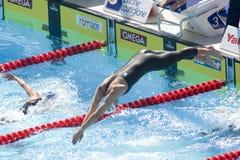 SWM : Championnat d'Aquatics du monde - style libre de l'équipe de femmes 200m Photos stock