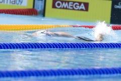 SWM : Championnat d'Aquatics du monde - style libre de 100m des femmes Images libres de droits