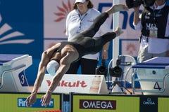 SWM : Championnat d'Aquatics du monde - style libre de 200m des hommes Image stock