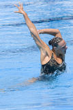 SWM: Final Solo Synchronised Swimming Stock Photo