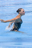 SWM: Final Solo Synchronised Swimming Stock Photography