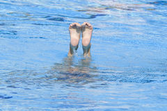 SWM: Final Solo Synchronised Swimming Stock Photos