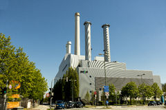 SWM power plant in Munich, Germany Stock Images