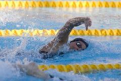 SWM: VärldsAquaticsmästerskap - kvinnors final för 200m fristil Fotografering för Bildbyråer