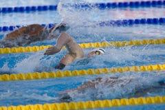 SWM: VärldsAquaticsmästerskap - mäns final för 400m fristil Arkivfoto