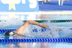 SWM: VärldsAquaticsmästerskap - mäns final för 400m fristil Royaltyfri Foto