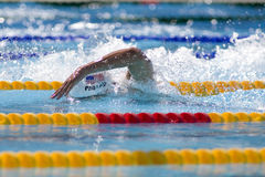 SWM: VärldsAquaticsmästerskap - mäns 200m fristil Arkivfoto
