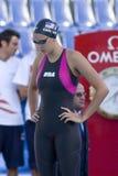 SWM: Weltaquatics-Meisterschaft - Brustschwimmen das 100m der Frauen halb Lizenzfreie Stockbilder