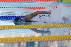 SWM: Weltaquatics-Meisterschaft - Freistilschluß das 100m der Frauen Stockfotos