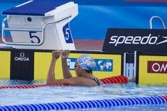 SWM: Weltaquatics-Meisterschaft - Freistilschluß das 1500m der Frauen Lizenzfreie Stockfotografie