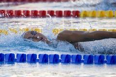 SWM: Weltaquatics-Meisterschaft - Freistilschluß das 1500m der Frauen Stockbild
