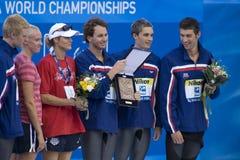 SWM: Światowy Aquatics mistrzostwo Zdjęcia Stock