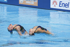 SWM: World Aquatic Championships - Synchronised swimming Stock Photo