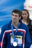 SWM: World Aquatics Championship - Ceremony mens 200m butterfly Royalty Free Stock Image