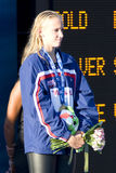 SWM: World Aquatics Championship - Ceremony womens 200m freestyl Royalty Free Stock Photo