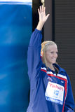 SWM: World Aquatics Championship - Ceremony womens 200m freestyl Royalty Free Stock Photography