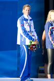 SWM: World Aquatics Championship - Ceremony womens 200m freestyl Stock Photography