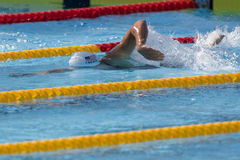 SWM: World Aquatics Championship - mens 400 individual medley Royalty Free Stock Photo