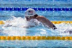 SWM: World Aquatics Championship - mens 400 individual medley Royalty Free Stock Photo