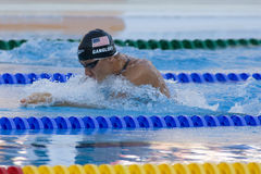 SWM: World Aquatics Championship - Mens 100m breaststroke semi f Royalty Free Stock Photos