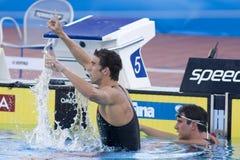 SWM: World Aquatics Championship - Mens 100m butterfly final Stock Photos