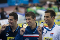 SWM: World Aquatics Championship - Mens 100m butterfly final Stock Photo