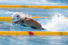 SWM: World Aquatics Championship -  Mens 100m butterfly qulifica Royalty Free Stock Photos