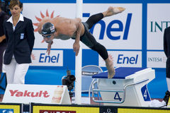SWM: World Aquatics Championship - Mens 200m butterfly semi fina Stock Photo