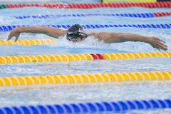 SWM: World Aquatics Championship - Mens 200m butterfly semi fina Stock Images
