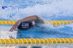 SWM: World Aquatics Championship - Mens 200m freestyle semi fina Royalty Free Stock Photo