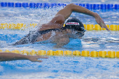 SWM: World Aquatics Championship - Mens 200m freestyle semi fina Royalty Free Stock Photos