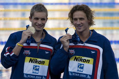 SWM: World Aquatics Championship -  Mens 200m individual medley Stock Photography