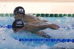 SWM: World Aquatics Championship -  Mens 200m individual medley Stock Image