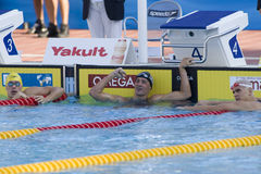 SWM: World Aquatics Championship -  Mens 200m individual medley Royalty Free Stock Photos