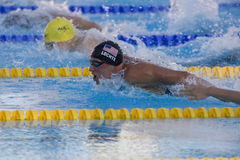 SWM: World Aquatics Championship -  Mens 200m individual medley Royalty Free Stock Photography