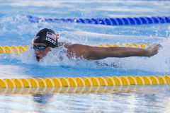 SWM: World Aquatics Championship -  Mens 200m individual medley Stock Photos