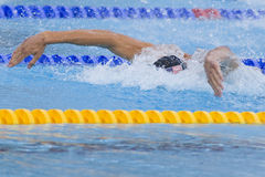 SWM: World Aquatics Championship - Mens 4 x 100m medley final Royalty Free Stock Photo