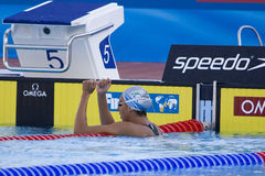 SWM: World Aquatics Championship - womens 1500m freestyle final Royalty Free Stock Photography
